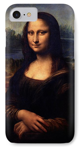 IPhone Case featuring the painting Mona Lisa II by Karon Melillo DeVega