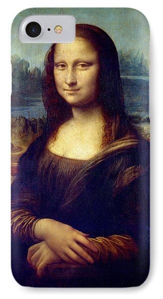 Mona Lisa Phone Case by Karon Melillo DeVega