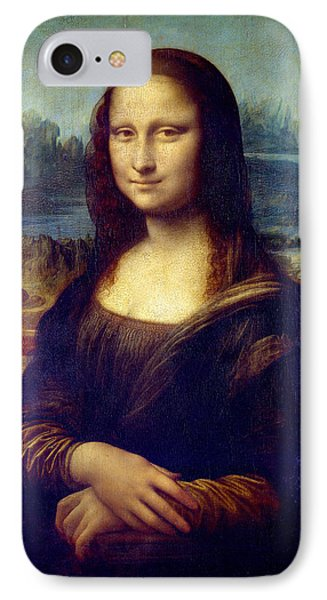 IPhone Case featuring the painting Mona Lisa by Karon Melillo DeVega