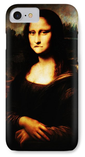 Mona Lisa Take One Phone Case by Bill Cannon