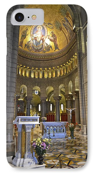 IPhone Case featuring the photograph Monaco Cathedral by Allen Sheffield
