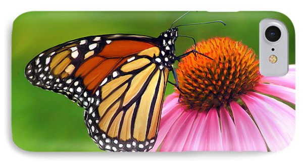 Monarch Butterfly Phone Case by Christina Rollo