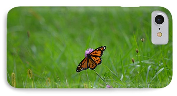IPhone Case featuring the photograph Monarch Butterfly by James Petersen