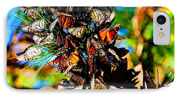 Monarch Butterfly Migration Phone Case by Tap On Photo