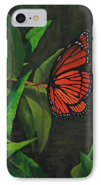 Viceroy Butterfly Oil Painting IPhone Case