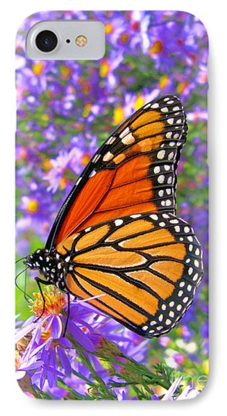 Monarch Butterfly Phone Case by Olivier Le Queinec