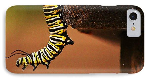 Monarch Caterpiller IPhone Case