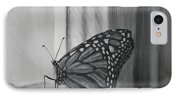 Monarch In The Window IPhone Case