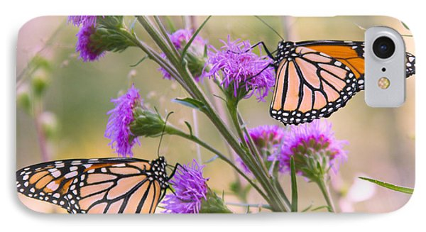 Monarch Pair IPhone Case