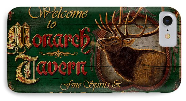 Monarch Tavern Phone Case by JQ Licensing