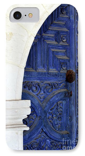 Monastery Door Phone Case by John Rizzuto