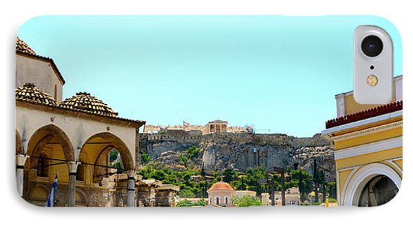 Monastiraki - Athens IPhone Case by Corinne Rhode