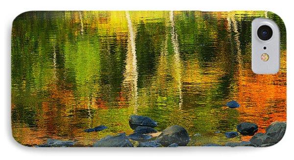 Monet Autumnal 02 Phone Case by Aimelle