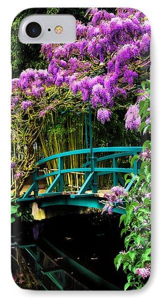 IPhone Case featuring the photograph Monet Bridge by Jim Hill
