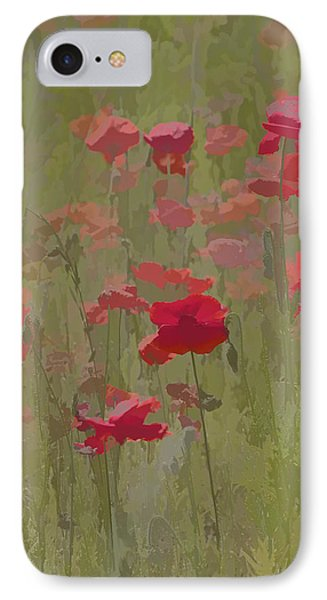 Monet Poppies Phone Case by David Letts