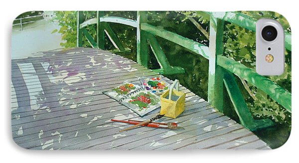 Monet's Bridge IPhone Case