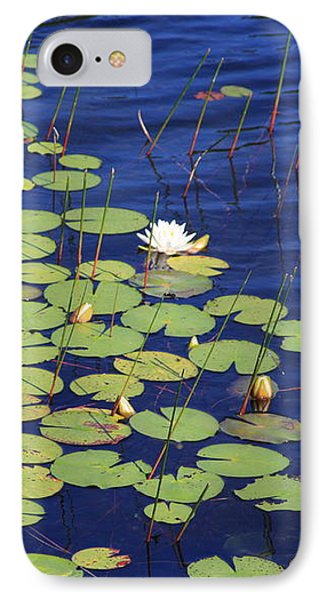 White Water Lilies IPhone Case