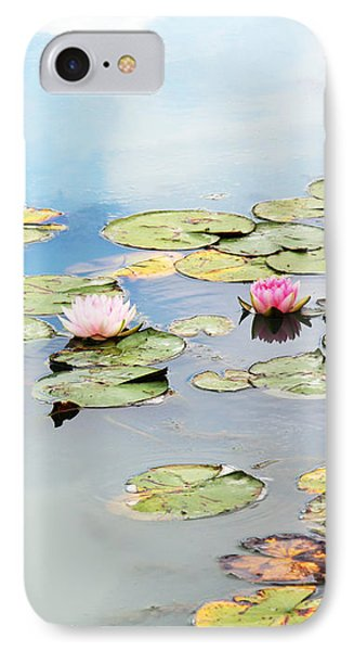 IPhone Case featuring the photograph Monet's Garden by Brooke T Ryan