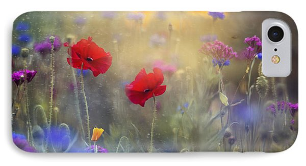 Monet's Garden I IPhone Case by Magda  Bognar