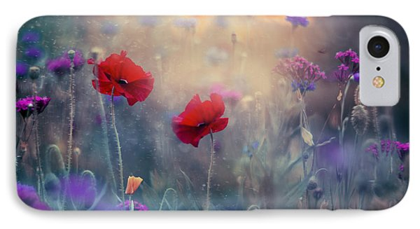 Monet's Garden II IPhone Case by Magda  Bognar