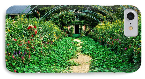 Monet's Gardens At Giverny Phone Case by Jeff Black