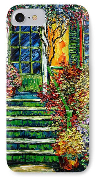 Monet's Giverny Oil Painting Phone Case by Beata Sasik