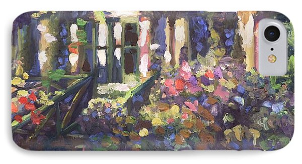 Monet's Home In Giverny Phone Case by Donna Tuten