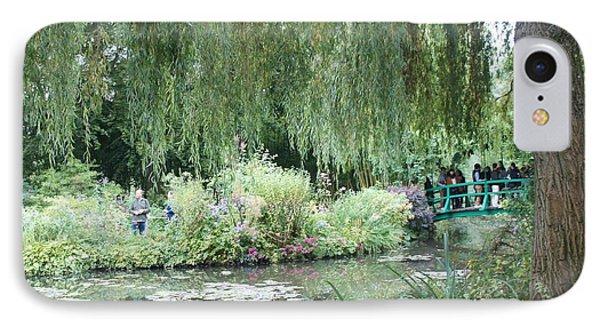 Monet's Japanese Bridge Phone Case by Kristine Bogdanovich
