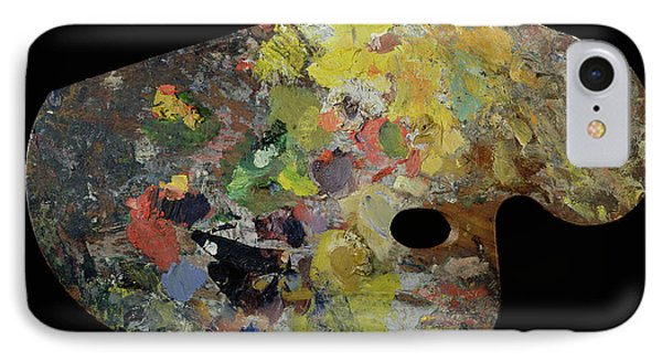 Palette Belonging To Claude Monet IPhone Case by French School