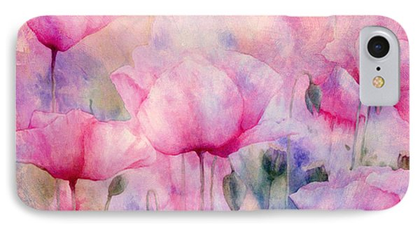 Monet's Poppies Vintage Cool IPhone Case by Georgiana Romanovna