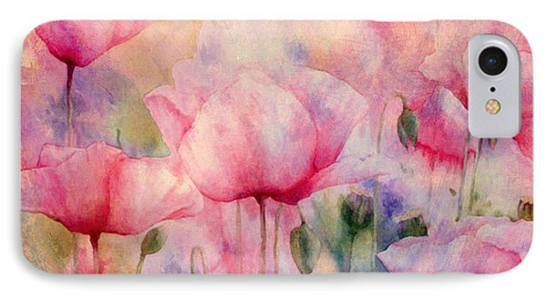 Monet's Poppies Vintage Warmth IPhone Case by Georgiana Romanovna
