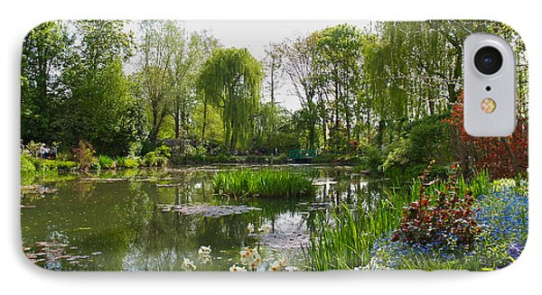 Monet's Water Garden At Giverny Phone Case by Alex Cassels