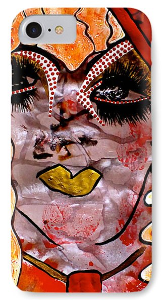 #money #kiss IPhone Case by Tetka Rhu