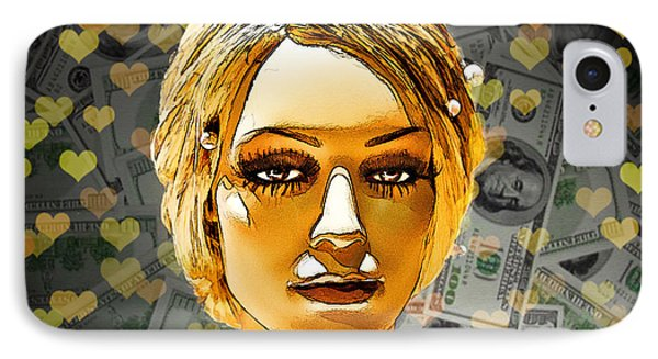 Money Love Phone Case by Chuck Staley