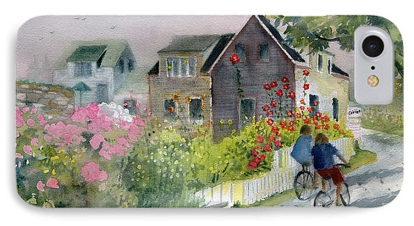 Monhegan In August IPhone Case by Melly Terpening