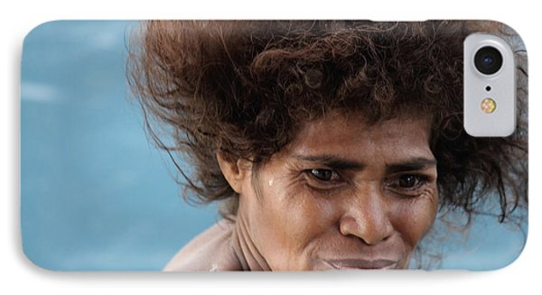 IPhone Case featuring the photograph Monica From Papua New Guinea by Jola Martysz
