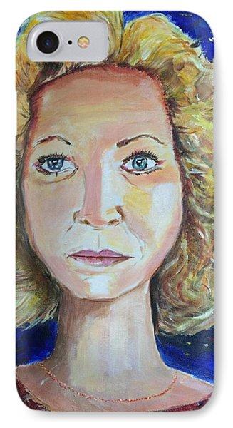 Monica 'marilyn' Siren  IPhone Case by Belinda Low
