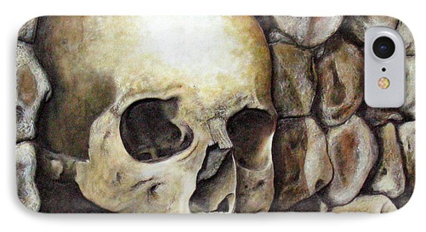 Monk Relic Phone Case by Elaine Booth-Kallweit