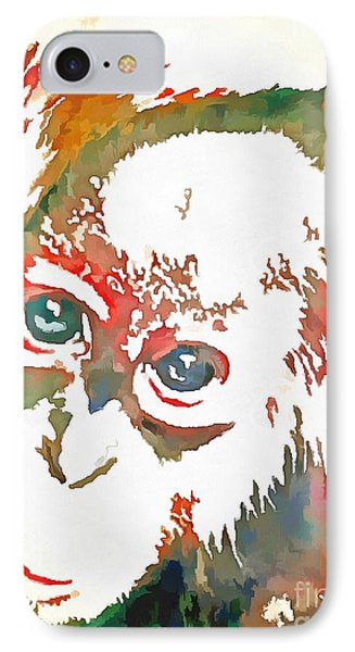 Monkey Pop Art IPhone Case by Catherine Lott