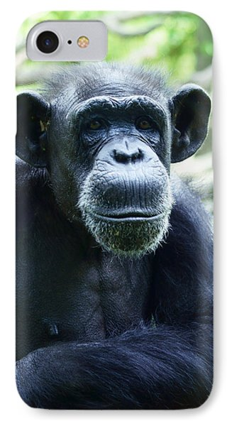 IPhone Case featuring the photograph Monkey See Monkey Do by B Wayne Mullins