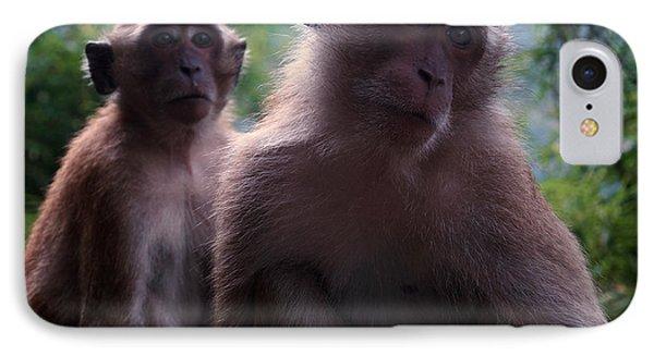 Monkey's Attention Phone Case by Kaleidoscopik Photography