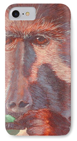 Monkey's Lunch IPhone Case by Whitney Morton