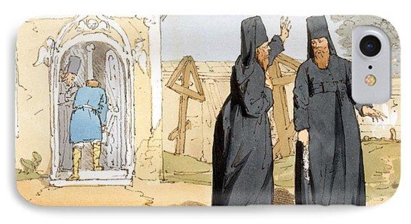 Monks, C.1804 IPhone Case