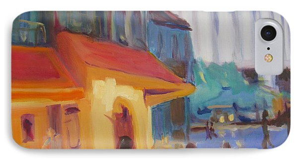 IPhone Case featuring the painting Monmartre by Julie Todd-Cundiff