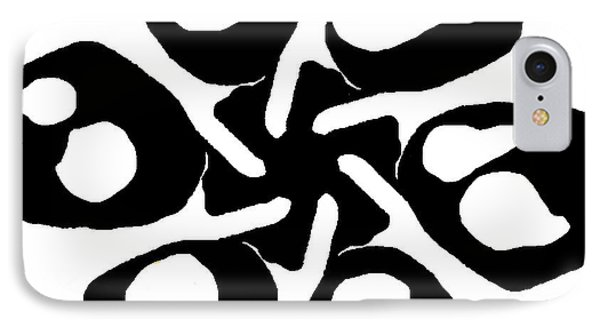 Monochrome New1builder3 Glyph 10 IPhone Case