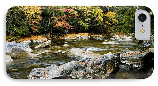 Monongahela National Forest Cranberry River Phone Case by Thomas R Fletcher