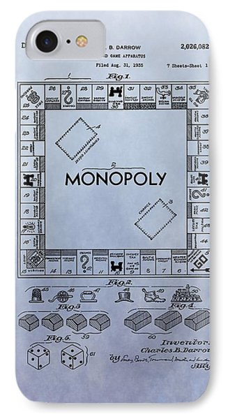 Monopoly Board Game Patent IPhone Case