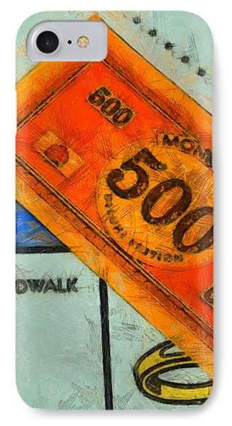 Monopoly Money Phone Case by Dan Sproul