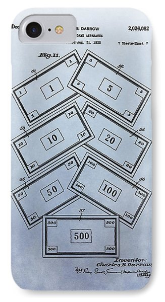 Monopoly Money Patent IPhone Case