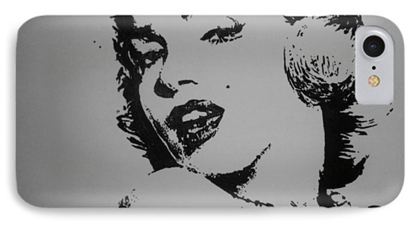 IPhone Case featuring the painting Monroe by Cherise Foster